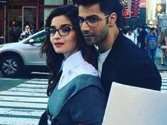 PIC: Alia Bhatt and Varun Dhawan share a candid moment in New York
