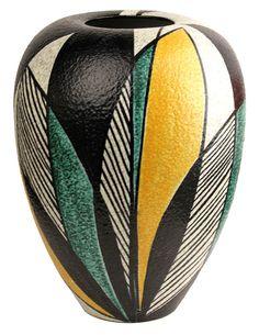 German Mid Century Ceramic Vase
