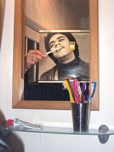 The secret to Johnny's white teeth was no secret at all. My Family Album Get Whiter Teeth, Johnny Mathis, Keto Pills, White Smile, Family Album, White Teeth, Teeth Whitening, Helping People, Family Photos