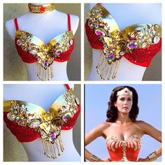 Wonder Woman rave outfit  By: Electric Laundry