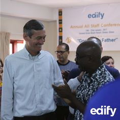 This #throwbackthursday is from our annual team meeting in Ghana. Our leadership team is an awesome example of encouragement and friendship! #edifyfamily #tbt