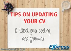 When a job is especially competitive, employers simply don't have the time to give each and every CV an in-depth analysis. As a result, they're looking for reasons to throw out some CV and narrow the talent pool. If your potential employer is a stickler for spelling or grammar and you make a small mistake, it could cost you the job.
