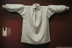 Shirt, maker unknown, linen, probably made in America, c1790-1820. Winterthur…