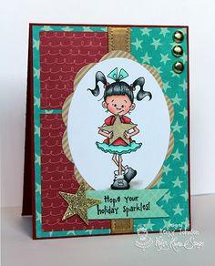 Kraftin' Kimmie Stamps Holiday Lulu