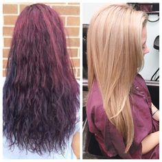 Olaplex before and after. Pretty amazing hair makeover