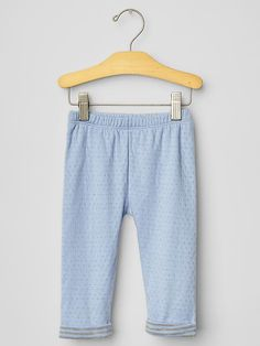 Pointelle cuffed pants Product Image