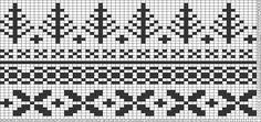 Tricksy Knitter Charts: Fair Isle hat brainstorm by Janice J