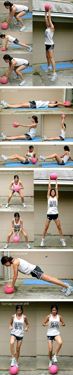 Medicine Ball Workouts   REPINNED