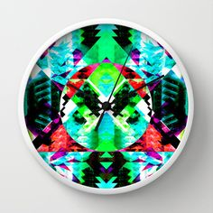 MAGNETIC SERVICE Wall Clock by Chrisb Marquez - $30.00