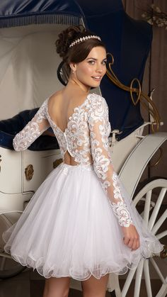 Long sleeves off shoulder ivory lace homecoming dresses,chea Dama Dresses, Lace Homecoming Dresses, Prom Dresses Long With Sleeves, Hoco Dresses, Quinceanera Dresses, Pretty Dresses, Bridal Dresses, British Wedding Dresses, Dream Wedding Dresses