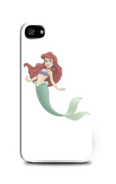 Ariel Little Mermaid iPhone 4 Case by Distro Ocean. White base case with Ariel Little Mermaid print, case that made from good quality material. Also available for iPhone 4S, 5/5S, 5C, 6/6 Plus, Samsung Galaxy Note 2, 3, Samsung Galaxy S3, S4, S5, Samsung Galaxy Grand, Redmi Xiaomi S1, Redmi Xiaomi Note. http://www.zocko.com/z/JIbme