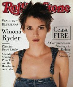 Winona Ryder, 1994 Rolling Stone Cover by Herb Ritts art print V Magazine, Magazine Covers, Magazine Design, Vanity Fair, Winona Ryder 90s, Angelina Jolie 90s, Rolling Stone Magazine Cover, Minnesota, Winona Forever