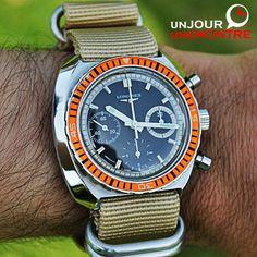 Lundi: Longines Chronographe Diver 8229