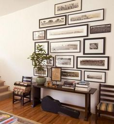Unique, horizontal frames