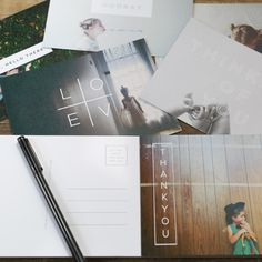 Upload your favorite images to build a pack of 20 unique postcards on high quality 100% recycled paper.