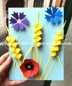Art Lessons For Kids, Art Lessons Elementary, Art For Kids, H&m Kids, Crafty Kids, Paper Folding, Creative Kids, String Art, Diy Tutorial
