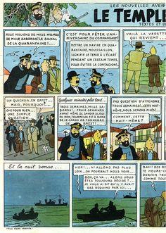 Page n° 8 du Journal de TINTIN édition Belge N° 3 du 16 Janvier 1947