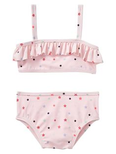 Star ruffle two-piece Product Image