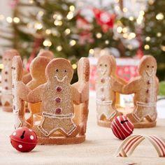 Gingerbread Christmas Tea Light Holder