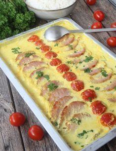 Mango, Quiche, Foodies, Nom Nom, Bacon, Food And Drink, Gluten, Dinner, Breakfast