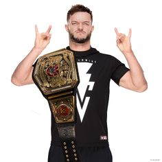Finn Balor UK Champion by RNR Editions 2 by RealRocknRolla78