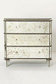Gorgeous mirrored dresser from Anthropologie! Most of their stuff is too expensive for me, but very cool for my Dream Home!