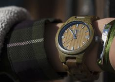 Reloj de Madera Jord