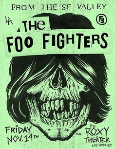 Em Los Angeles: Foo Fighters faz show com uma pequena ajuda dos amigos