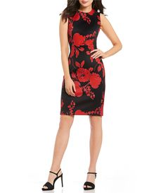 Shop for Calvin Klein Floral-Print Sheath Dress at Dillards.com. Visit Dillards.com to find clothing, accessories, shoes, cosmetics & more. The Style of Your Life.