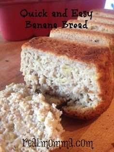 Quick and Easy Banana Bread Recipe