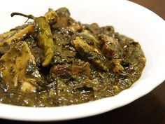 Laing - Taro Leaves and Taro slowly simmered in coconut milk