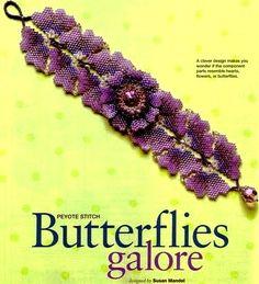 Butterflies Galore bracelet instructions