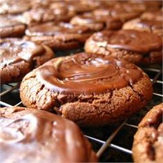 ***Chocolate Mint Candies Cookies (add 1/2-1tsp peppermint extract, optional: 1tsp expresso pwdr)