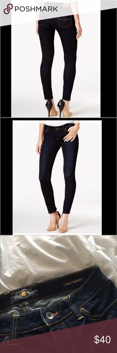 Lucky Brand Lola Skinny Jeans 🌟 on hold 🌟 Lucky Brand jeans Style: Lola Skinny Indigo wash. Approximately 39 inch length. Gently worn, great condition. Lucky Brand Jeans Skinny