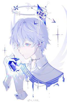 Anh chàng thiên thần với viên kim cương xanh