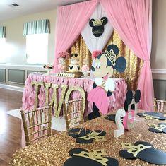 Princess Minnie Birthday Party - Minnie Mouse