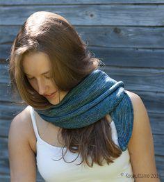 Seili-scarf, designed by Veera Välimäki | Malabrigo Sock | Koukuttamo