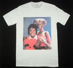 14a540fb1bc Vintage T-Shirt Michael Jackson  amp  E.T Reprint Size S-XXL  fashion