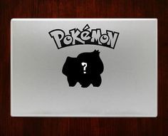 """Whos that pokemon bulbasaur Decal Sticker Vinyl For Macbook Pro/Air 13"""" Inch 15"""" Inch 17"""" Inch Decals Laptop Cover #bulbasaurdecal"""