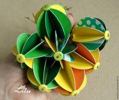 Делаем яркие шарики на ёлку за 5 минут - Ярмарка Мастеров - ручная работа, handmade