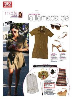 Aparición de Pippa&Jean en la revista Diez Minutos. #moda #modamujer #prensa #joyas #bisuteria #pippajeans #pippaandjeans #revista #periodico #tv