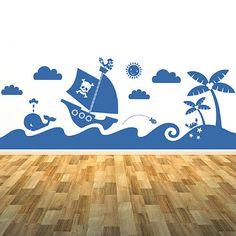 Sea Scene Wall Sticker Mural