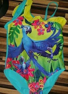 Kaufe meinen Artikel bei #Mamikreisel http://www.mamikreisel.de/kleidung-fur-madchen/badeanzuge-und-uv-schutzkleidung/36484597-badeanzug-116-rio-2-bunt