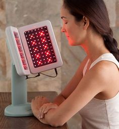 Deep Penetrating Light Therapy Device - Gaiam    Want this for pain and healing.