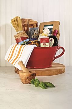 Gift a DIY gift basket for the foodie!  Find your local @HomeGoods store to get started!