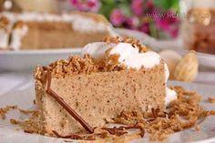 Posna kesten torta Cream Cheese Flan, Posne Torte, Condensed Milk Cake, Desserts With Biscuits, Cheddar Cheese, Vanilla Cake, Healthy Living, Cooking Recipes, Vegan