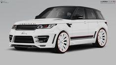 I also need this for the school run... LUMMA #RangeRover Sport CLR RS