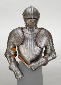 Armor for Use in the Tourney Fought on Foot over the Barriers Pompeo della Cesa