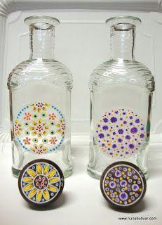 Art i sensacions: Noves creacions sobre vidre.