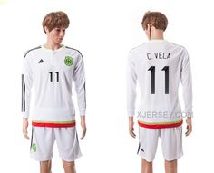 http://www.xjersey.com/201516-mexico-11-cvela-away-long-sleeve-jerseys.html 2015-16 MEXICO 11 C.VELA AWAY LONG SLEEVE JERSEYS Only 33.11€ , Free Shipping!
